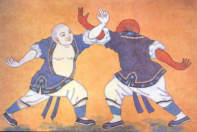 Dipinti nel Monastero Shaolin